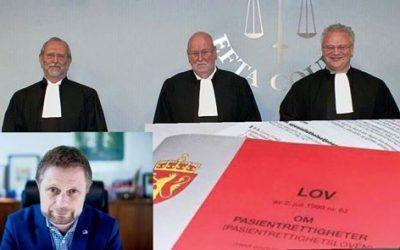 Norske myndigheter nekter å gi norske pasienter rett til behandling i utlandet