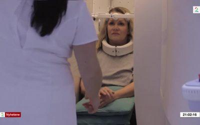Nakkeskader oppdages i stående MR